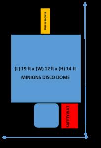 Minions Disco Dome